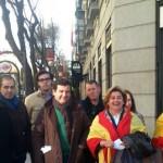 VOX Ciudad Real, con las víctimas del terrorismo en la Plaza de Colón