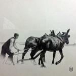 Manzanares: La obra del pintor Manuel Serrano gana el certamen de pinturaconvocado por Bodegas Yuntero