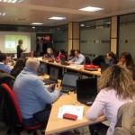 El director de la Oficina de Empresa de Globalcaja intervino en el curso de creación de microempresas de AJE Ciudad Real