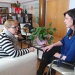 La alcaldesa de Puertollano renueva el convenio con Aldabón