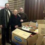 El Ayuntamiento de Herencia entrega a Cáritas más de 1.000 kilos de alimentos no perecederos recogidos en Navidad