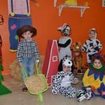 Los más pequeños de Almagro celebran el Carnaval en una granja y un circo