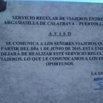 Advierten de que Autocares Cid abandonará el servicio de autobuses interurbanos en localidades de la comarca de Puertollano