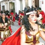 Gran participación de máscaras callejeras en el XXVIII Desfile Local de Carnaval de Campo de Criptana