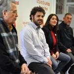 """Los candidatos a las primarias de IU-CLM reconocen que """"no hay diferencias sustanciales"""" entre ellos"""
