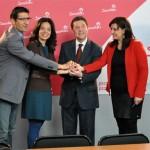 García-Page afirma que votar a Podemos en las regionales es «medio votar» a Cospedal y niega cualquier acuerdo con Pablo Iglesias