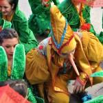 Domingo de Piñata en Ciudad Real: Pinocho se lleva el arlequín de oro