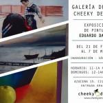 Cheeky Designs expone obras de Eduardo Daimiel