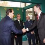 Globalcaja, con Felipe VI en el Congreso de Cooperativas Agroalimentarias