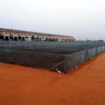Casi terminado el recinto para que los vecinos puedan disponer de huertos urbanos en Carrión de Calatrava