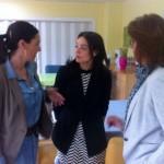 Pilar Zamora visita el centro Alöis Alzheimer en su ronda de contactos con colectivos y ciudadanos