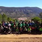 Puertollano: Medio centenar de senderistas del Club Pozo Norte en los Montes Altos de Toledo