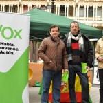 VOX, en la calle