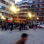 Los bichos no dan abasto: los niños devuelven la alegría a la Plaza Constitución de Puertollano