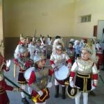 Los alumnos más jóvenes del colegio Maestro Navas dan el pistoletazo de salida a la Semana Santa de Aldea del Rey