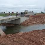 Abierto al tráfico el nuevo puente del camino de Daimiel