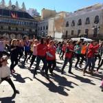 GO fit Ciudad Real y Cruz Roja reúnen a un centenar de personas en una jornada deportiva y solidaria