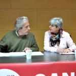 Debate de Ganemos: Vidal aboga por extender la democracia participativa y Soánez reclama el fin de la «red clientelar» tejida a base de privatizaciones