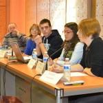 Alumnos de IES Atenea, protagonistas del acto conmemorativo del Día de la Mujer organizado por la Diputación