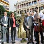 Ciudad Real ya tiene señora de sus pensamientos: se descubre la estatua de Dulcinea