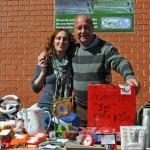 Un grupo de voluntarios pretende forestar una hectárea en la Finca Valdarachas, en Poblete