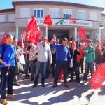 """Trabajadores del centro ocupacional Fuensanta exigen la readmisión de un delegado sindical y denuncian una """"caza de brujas"""""""