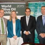 Firmado el convenio de colaboración entre Globalcaja y Pomona Keepers para la celebración de la World Olive Oil Exhibition