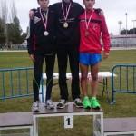 Tres medallas del Inmobiliaria Teo Valdepeñas en el campeonato provincial escolar
