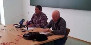 Juan Francisco Valbuena, a la izquierda de la imagen