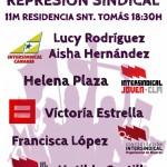 Intersindical Joven organiza unas jornadas dedicadas a la mujer trabajadora con el Sahara y la represión sindical como temas de análisis y de debate