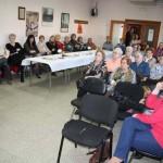 Puertollano: Encuentro de la alcaldesa con las mujeres de la barriada Libertad con motivo del 8 de marzo