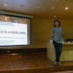 Marta Mª Moreno advierte de que nada puede sustituir a las variedades hortícolas locales