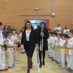 Puertollano: Paqui Moreno, la supermujer cinturón negro, ya tiene un pabellón con su nombre