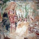 Descubren unas pinturas del primer tercio del siglo XVI en la ermita de la Purísima de Torralba de Calatrava