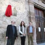 Ciudad Real: La alcaldesa descubre la placa dedicada a las carmelitas descalzas en el quinto centenario de Santa Teresa de Jesús