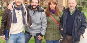 De izquierda a derecha: Molinete, Risco, Rodríguez y Luchena