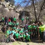 Puertollano: El Club Pozo Norte recorrió el sendero de Valtriguero de Puebla de Don Rodrigo