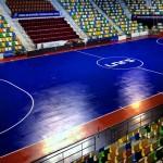 El Quijote Arena se tiñe de azul 'futsal'