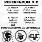 El Colectivo Estudiantil de Ciudad Real celebrará un referéndum sobre el modelo 3+2 entre el 11 y el 18 de marzo