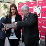 Rosa Romero participaen la inauguración de la Semana Mundial del Cerebro organizada por de la Facultad de Medicina