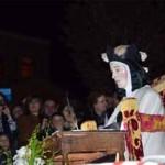 La imagen de Santa Teresa es procesionada en un día histórico para Malagón