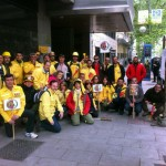 Los retenes ponen fin al calendario de movilizaciones con una nueva concentración en Madrid