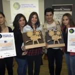 El IES Atenea se proclama vencedor del festival de clipmetrajes de Manos Unidas y representará a la región en la final