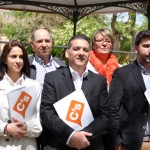 Puesta de largo de la candidatura provincial a las Cortes regionales: Ciudadanos poneel punto de mira en el desempleo, la corrupción y la falta de transparencia
