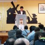 Daimiel: El alcalde y la concejal de Cultura inician la lectura pública de la segunda parte de 'El Quijote'