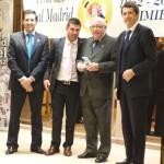 Tomás Pérez y José González de Murillo, cincuenta años en la peña del Real Madrid de Daimiel