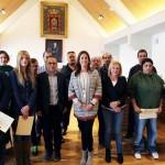 La alcaldesa de Ciudad Real entrega los diplomas del curso de prevención de riesgos laborales organizado por el Patronato Municipal de las Personas con Discapacidad