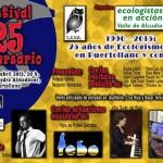 Puertollano: Ecologistas en Acción-Valle de Alcudia celebra su 25 aniversario con un festival