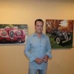 Javier Nieto muestra su pintura fotorrealista en el Gran Teatro