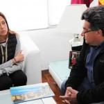 La alcaldesa de Ciudad Real brinda el apoyo del Ayuntamiento a la ONG Misión Humanitaria